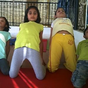 Yoga Asanas - camel Pose