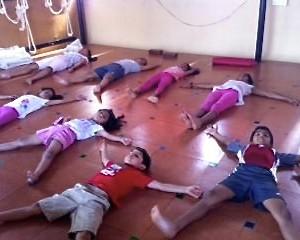 Yoga Asanas - sleeping pose