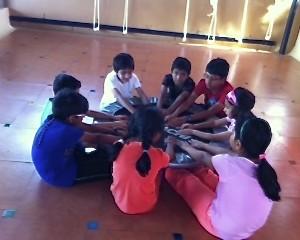 Yoga Asanas - simple poses for kids