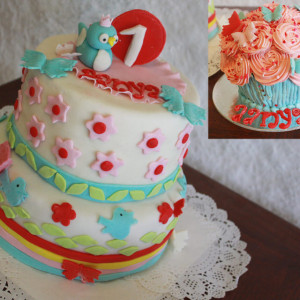 Happy Belly Bakes- First 1st Birthday cake