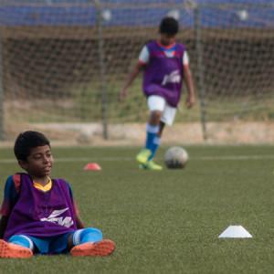 BFC Elite Club, kids playing football