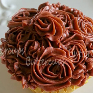 Buttercups- Chocolate mocha cupcake