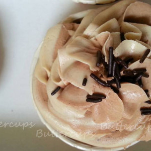 Buttercups- Chocolate peanut butter cupcake
