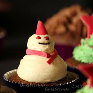 Buttercups- Christmas Cake