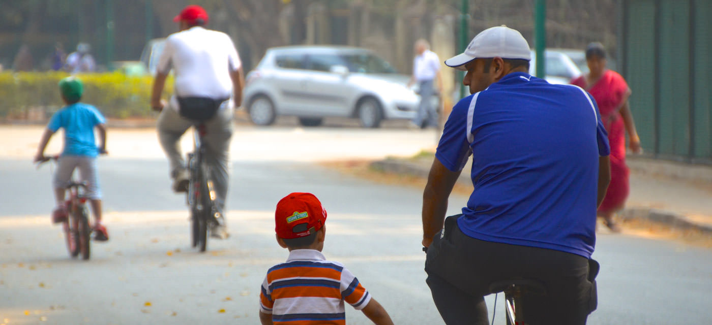 Cycling with Children: Safe Trails in Bangalore Cover Image
