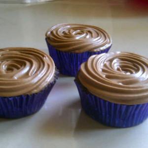 Battered Up- Chocolate cream cupcake