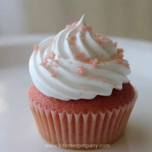 Bite Me Cupcakes- Strawberry cupcake