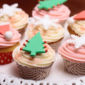 cupcakes, The Cupcake Company- Christmas cake cupcake