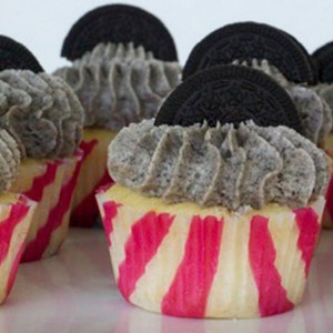 The Sugar Goddess- Oreo cupcake