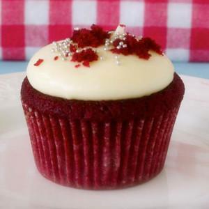 The Sugar Goddess- Red velvet cupcake
