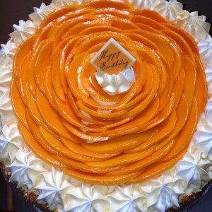 Cookies- Alphonso Mango Praline theme Cake