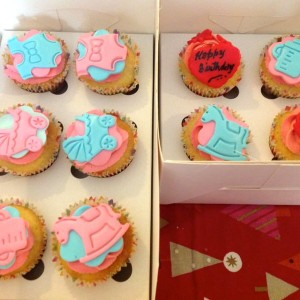 Devi's Cakes N Bakes- Babyshower favours Cupcakes