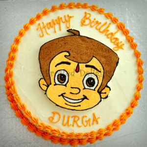 Frosted-Delights-Chota Bheem Birthday Cake