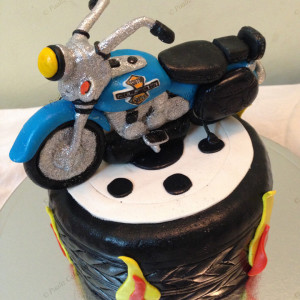 Paaliz Cake Art- Harley Davidson Cake