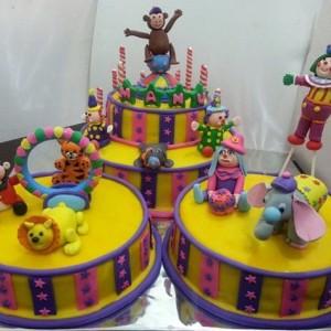 The Cake Lady- Carnival cake