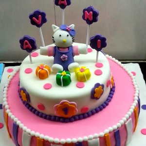 The Cake Lady- Hello Kitty birthday cake