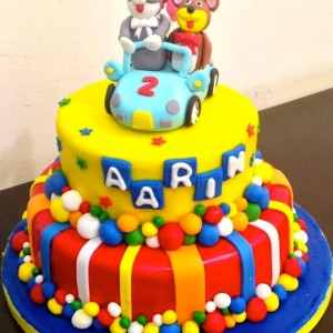 The Cake Lady- Tom and Jerry Birthday cake