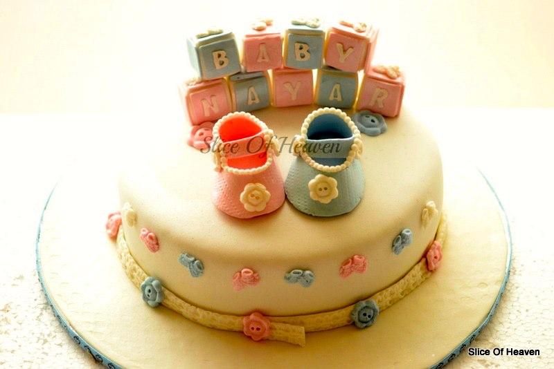 Baby Shower Cakes Bangalore ~ Slice of heaven whitefield bangalore