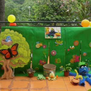 Tickles & Tales backdrop