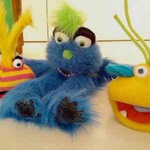 Tickles & Tales favourite 3 character puppet friends