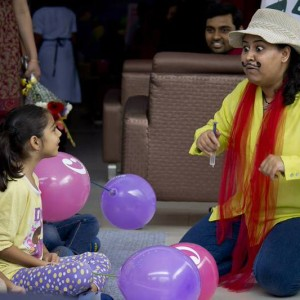 Tickles & Tales @Cloud9 for children's day