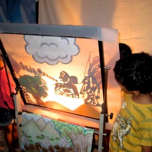 Tickles & Tales -Shadow puppetry of Ramakein
