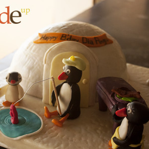 Butter Side Up- Penguin cake