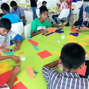 craft caravan Kids Birthday Party Entertainer, Bangalore, offers a greta craft activity programme for children, Arts and crafts