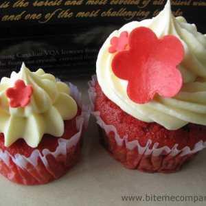 Bite Me Cupcakes- Red velvet cupcake