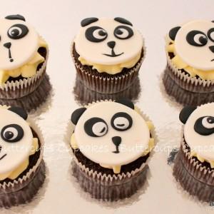 Buttercups- Panda Kung Fu Panda cupcake