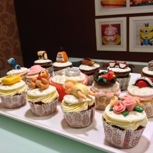 The Cake Butik- Baby Shower themed Cupcakes