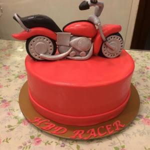 The Cupcake Company- Harley Davidson Motorbike cupcake