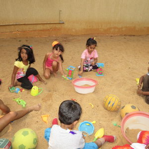 birthday party venues, PLaY Juniors, Off Sarjapur Road, sand pit, play areas