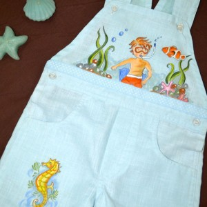 Handpainted Clothes by Liz Jacob