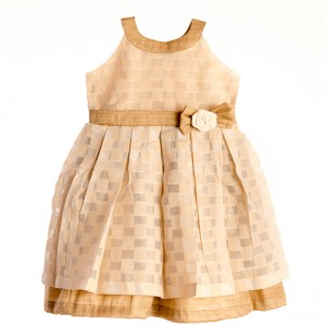 Liz Jacob golden dress for girls