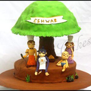 PnP Cakes- Chota Bheem birthday cake