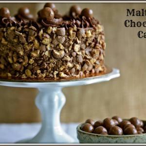 The Sugar Goddess- Malteser luxury custom designer cake