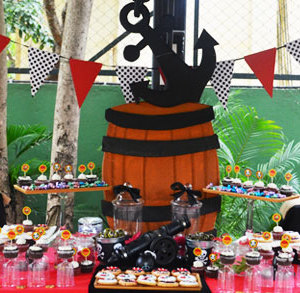 HourGlass, kids birthday party planners in bangalore, Pirate Theme birthday party