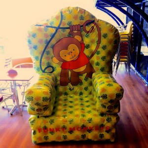 Funky Monkey Throne