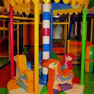 Funky Monkey, M.G.Road, Merry go round, play areas