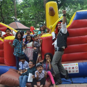 HourGlass, kids birthday party planners in bangalore, Party entertainer, Daniel