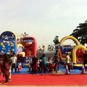 kids birthday party planners in bangalore, Jumporee, bouncy with kids