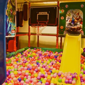 birthday party venues, Magic Threads, Koramangala, ball pool, play areas