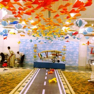 kids birthday party planners in bangalore, Whole Nine Yards Airplane Theme