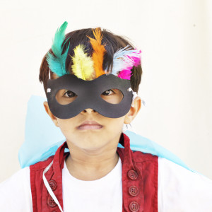 DingDong box - Angry Bird Mask - DIY Activity Box