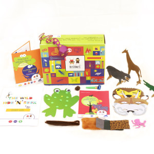 DingDong box - Wild Animal DIY Activity Box