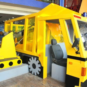 Giros Children's Explorium Build, play areas