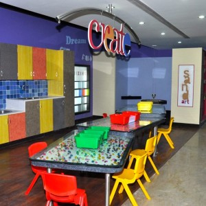 Giros Children's Explorium Creativity and Art Section