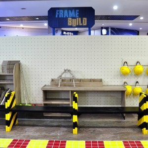 Giros Children's Explorium Frame Build
