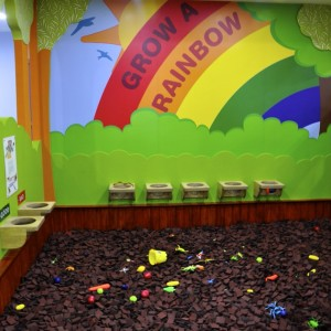 birthday party venues, Girias Children's Explorium Grow a Rainbow